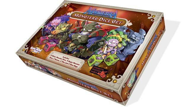 Masmorra: Monster Dice Set (PRÉ-VENDA)