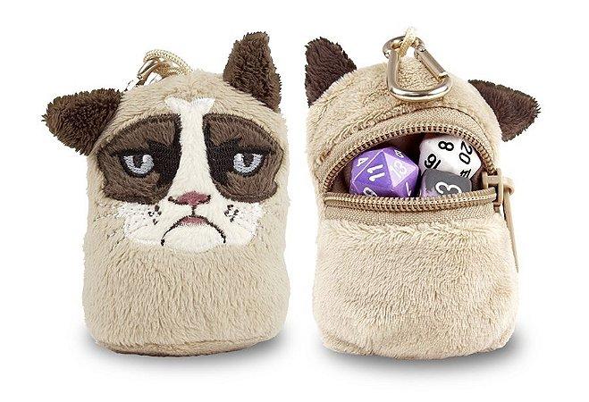 Bolsa para Dados e Fichas, Ultra PRO - Grumpy Cat Mini Dice & Token Pouch