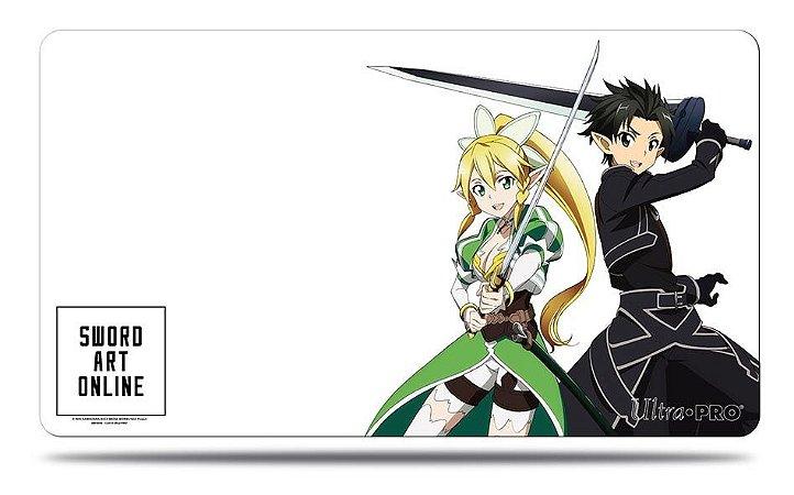 Play Mat Ultra PRO - Estampa Kirito & Leafa de Sword Art Online