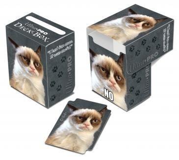 Deck Box Ultra PRO - Estampa Grumpy Cat