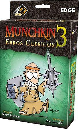 Munchkin 3 - Erros Cléricos - Expansão de Munchkin
