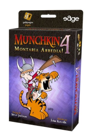 Munchkin 4 - Montaria Arredia! - Expansão de Munchkin