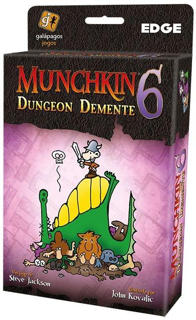 Munchkin 6 - Dungeon Demente - Expansão de Munchkin - Em Português!