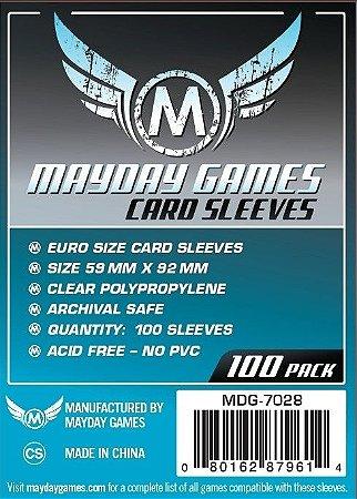 Sleeves Mayday 59x92mm - Euro - com 100 Protetores