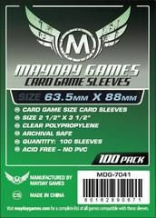 Sleeves Mayday 63.5x88mm - Card Game Size - 100 unidades - Para King of Tokyo e muitos outros!