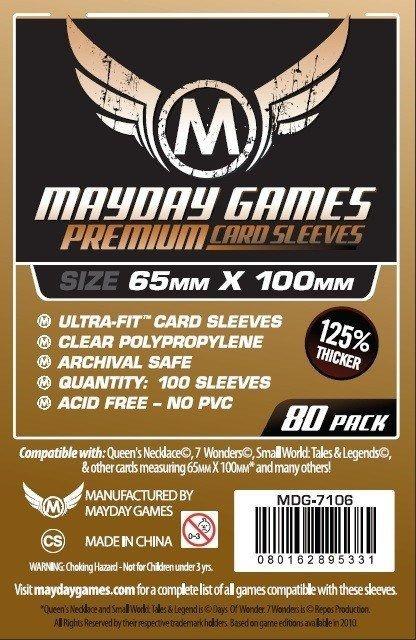 Sleeves Mayday 65x100mm - Magnum Copper PREMIUM - 7 Wonders