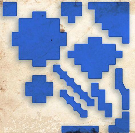 Área de Magia para RPG - Azul