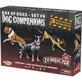 Dog Companions - Expansão de Zombicide - Em Português!