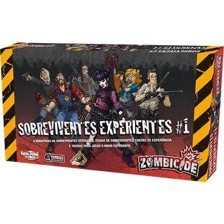 Sobreviventes Experientes - Expansão de Zombicide