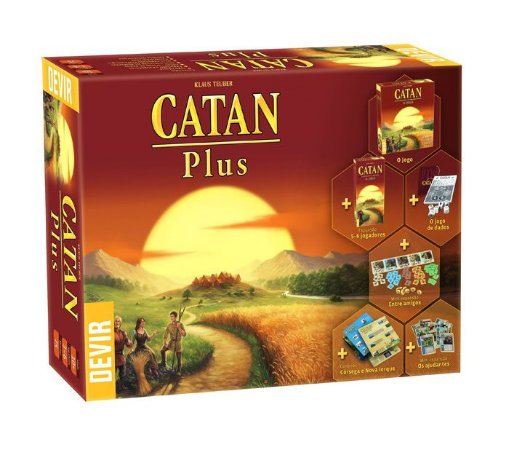 Catan Plus (PRÉ-VENDA)