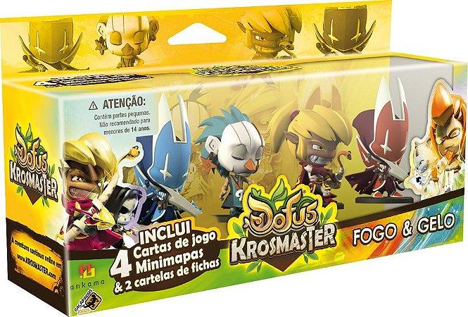 Fogo & Gelo - Conjunto 01 - Expansão de Krosmaster - Em Português!