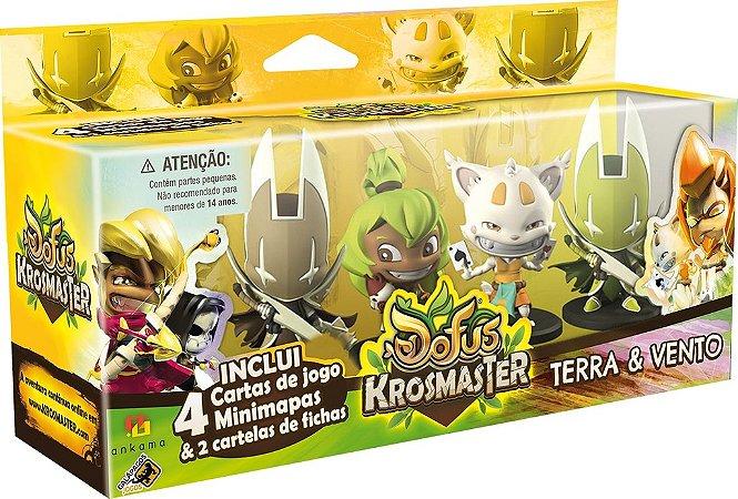 Krosmaster Arena - Expansão Terra & Vento - Conjunto 04