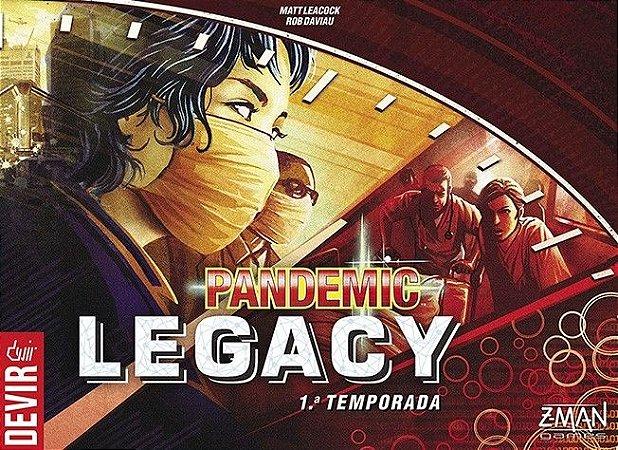 Pandemic Legacy - 1ª Temporada - Caixa Vermelha