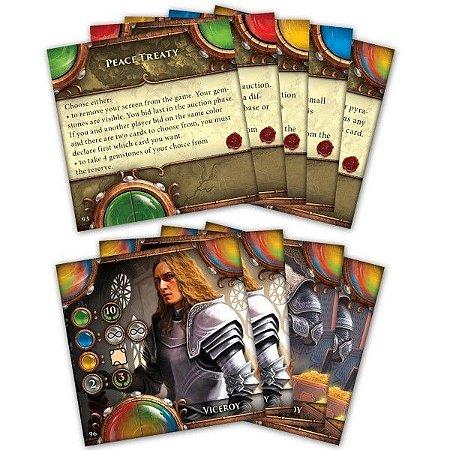 Kit de Cartas Promo para Viceroy Fantasy Pyramid Card/Board Game - Importado - Em Inglês