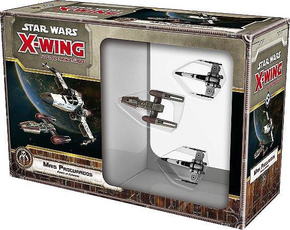 Mais Procurados - Expansão de Star Wars X-Wing