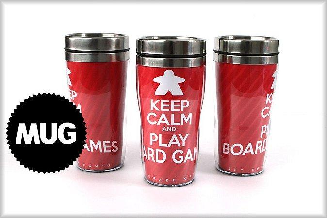 Mug Keep Calm and Play Board Games