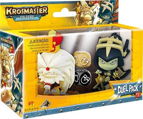 Krosmaster Arena - Pacote de Duelo - Rei Nidas VS Rainha dos Ladrões