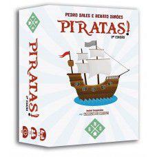 Piratas! 2ª Edição + Game Log + Playmats (PRÉ-VENDA)