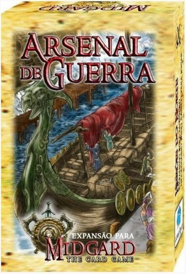 Arsenal de Guerra - Expansão de Midgard: The Card Game - Jogo Nacional!