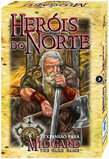 Heróis do Norte - Expansão de Midgard: The Card Game - Jogo Nacional!