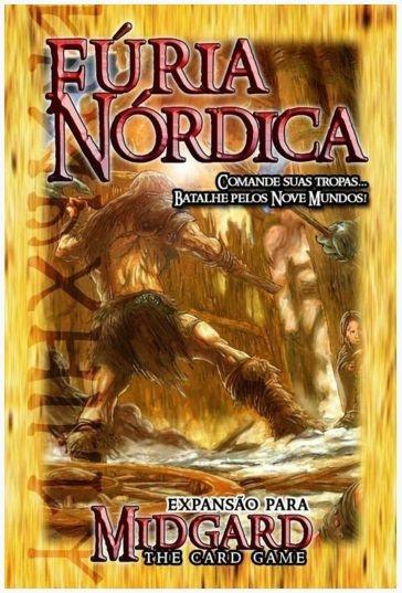 Fúria Nórdica - Expansão de Midgard: The Card Game - Jogo Nacional!