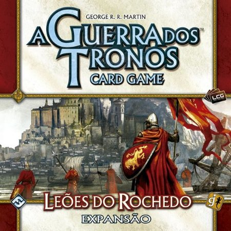 Leões do Rochedos - Expansão de Casa de A Guerra dos Tronos: Card Game - Em Português!
