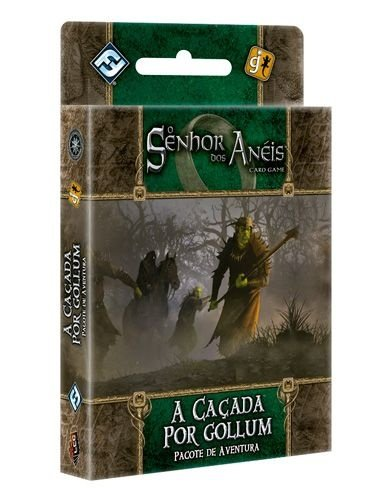 A Caçada por Gollum - Pacote de Aventura - Expansão de O Senhor dos Anéis: Card Game - Em Português!