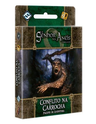 Conflito na Carrocha - Pacote de Aventura - Expansão de O Senhor dos Anéis: Card Game - Em Português!