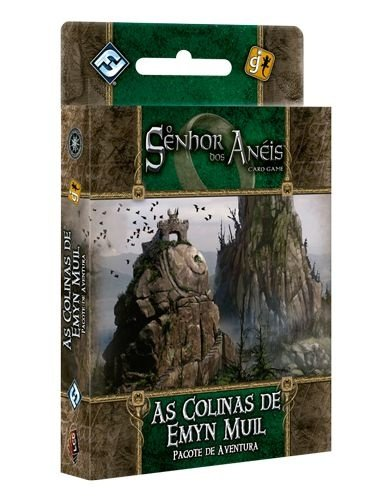 As Colinas de Emyn Muil - Pacote de Aventura - Expansão de O Senhor dos Anéis: Card Game - Em Português!