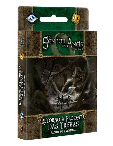 Retorno à Floresta das Trevas - Pacote de Aventura - Expansão de O Senhor dos Anéis: Card Game
