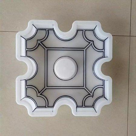 Forma plastica para concregrama pisograma 30x30x08cm