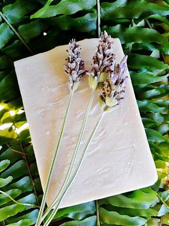 Sabonete e Xampu Suave Clareador Calmante de argila branca + lavanda Vegano 100% Natural