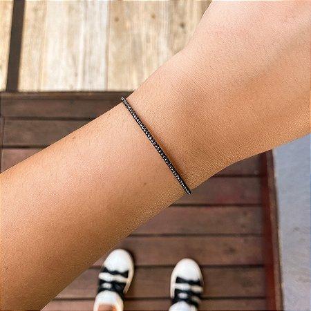 Pulseira bracelete maleável bolinhas