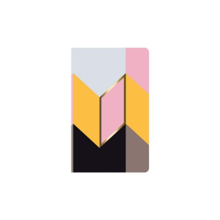Caderno Papertalk Maxi Pautado Allegro Oblíquo Ótima Gráfica 5130-3
