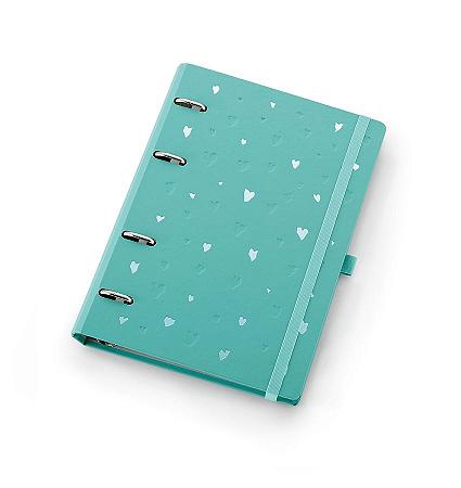 Planner Maxi Ótima Gráfica Caderno Organizador Romantic Verde  4409-1