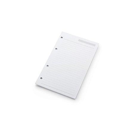 Refil Planner Ótima Gráfica Maxi Pautado 12,5x20cm 4872-3