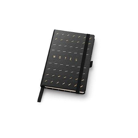 Caderneta Ótima Gráfica Papertalk Mini Pontilhado Noir Traço 4649-1