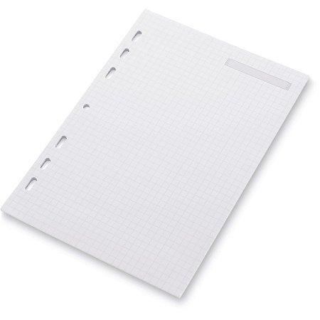 Refil Planner A5 Quadriculado Ótima Gráfica 4880-8
