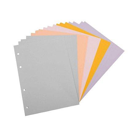 Refil Planner Maxi Cor Ótima Gráfica 4876-1