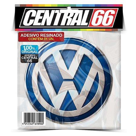 Adesivo Resinado Redondo Marca - Volkswagen