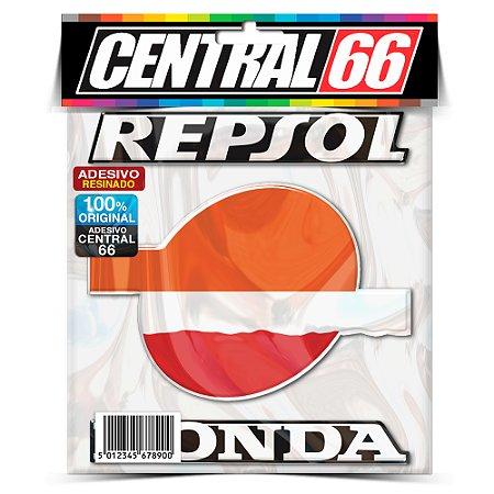 Adesivo Resinado Honda Repsol Logo escrita