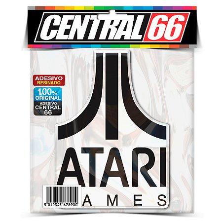 Adesivo Resinado Jogo Marca Atari