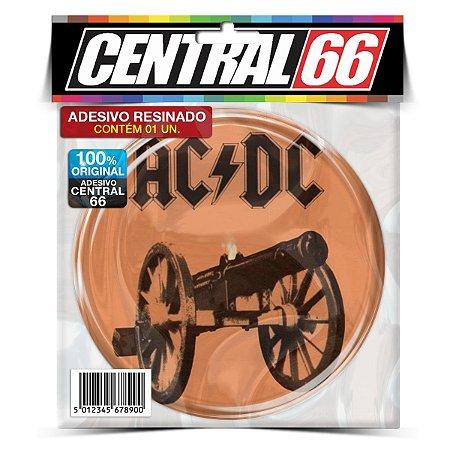 Adesivo Resinado Redondo ACDC - Beje