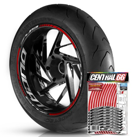Friso de Roda M2 749 + Adesivo Interno G Ducati