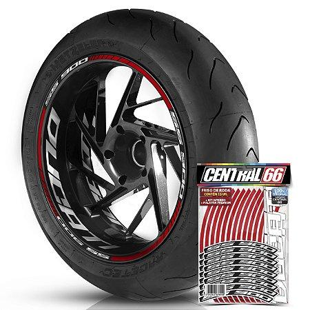 Friso de Roda M2 SS 900 + Adesivo Interno G Ducati