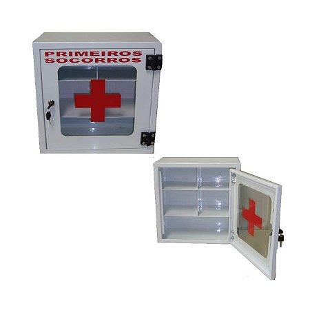 Caixa de Primeiros Socorros - Salutem Móveis Hospitalares
