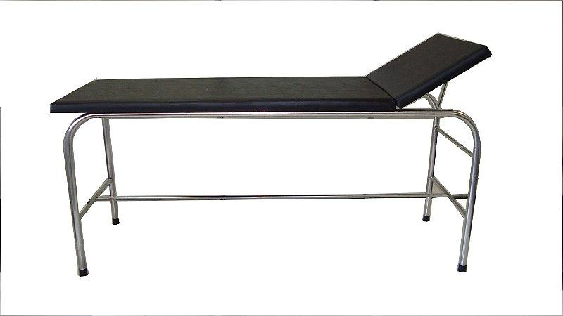 Maca/Mesa Para Massagem com Estrutura em Aço Inox - Salutem Móveis Hospitalares
