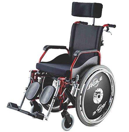 Cadeira de Rodas Ágile Reclinável - Jaguaribe