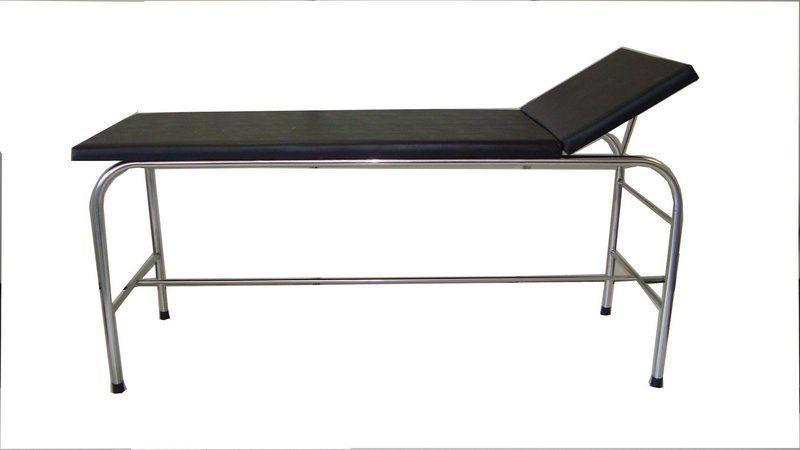 Maca/Mesa Para Massagem com Estrutura em Aço Inox - Salutem