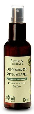 Desodorante vegano e natural Arte dos Aromas - Sálvia 120ml